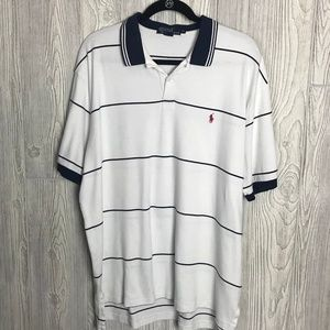 Ralph Lauren Polo White with blue strips